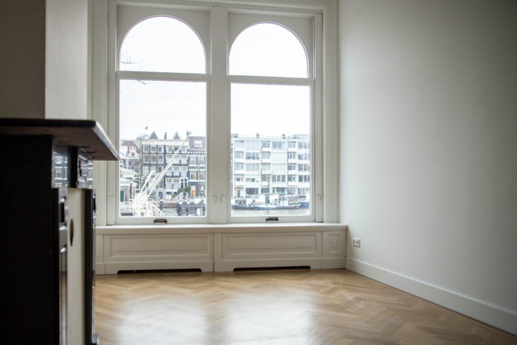 Complete renovatie en restauratie grachtenpand Amsterdam